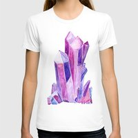 crystal T-shirts featuring Crystal by Christina Guo