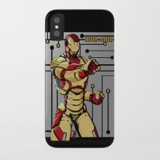 Iron Man iPhone X Slim Case