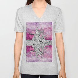 Yggdrasil Dawn Unisex V-Neck
