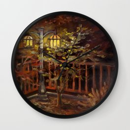 Halcyon Glow Wall Clock