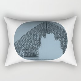 Louvre Fountain Rectangular Pillow
