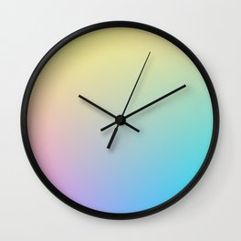 MELODY / Plain Soft Mood Color Tones Wall Clock