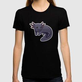 Black Axolotl (Uncommon Animal Series) T-shirt