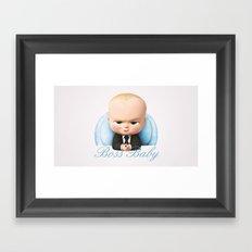 Boss Baby Framed Art Print