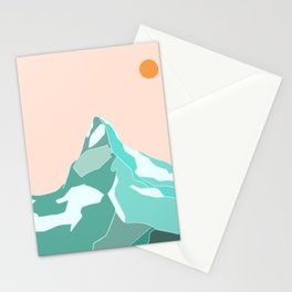 Matterhorn Magic Stationery Cards