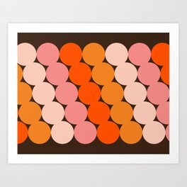 Honey Dots Art Print
