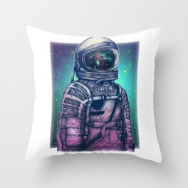 Galexy volunteer Throw Pillow