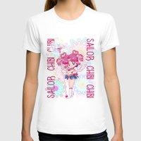 chibi T-shirts featuring Sailor Chibi Chibi Moon by Neo Crystal Tokyo
