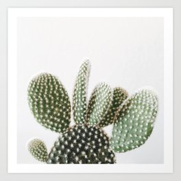 Good Morning Cactus Art Print