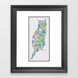 TropiKitty Framed Art Print