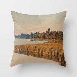 Rondeau Provincial Park Throw Pillow