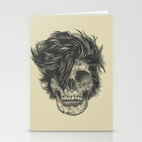 dead Stationery Cards featuring Dead Duran by Rachel Caldwell