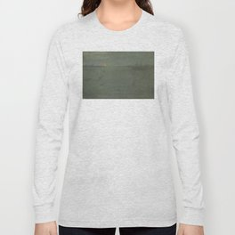 James Abbott McNeill Whistler - Nocturne Blue and Gold: Southampton Water Long Sleeve T-shirt