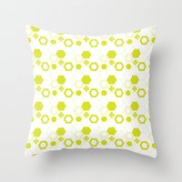 polygon Throw Pillows featuring Polygon by Julianne Chia