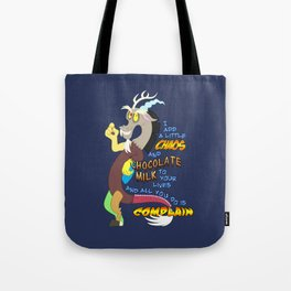 Add A Little Chaos Tote Bag