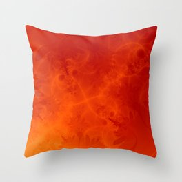 Fire Storm Throw Pillow