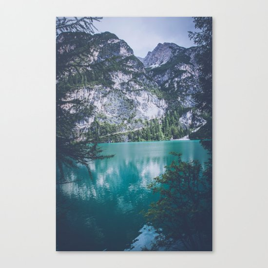 Peer Through Canvas Print