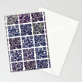 QR Codes to Playlists Stationery Cards