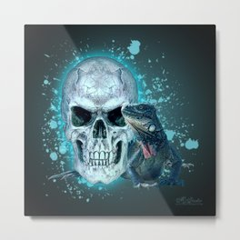 Cold Blooded Metal Print
