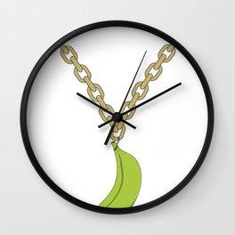 Platano Power Wall Clock