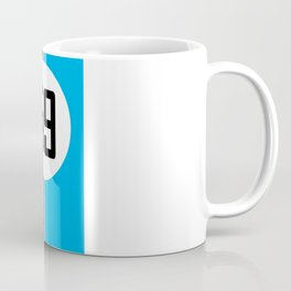 Brumos Racing Stripes Coffee Mug