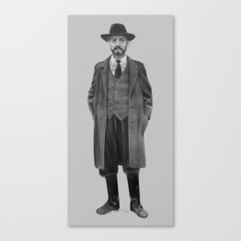 The Inspector Canvas Print