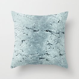 Old Stone Wall - textured VII Throw Pillow