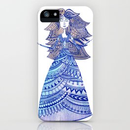 Queen of the West Kingdom iPhone Case