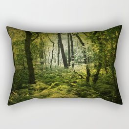 Dark Woodland Rectangular Pillow
