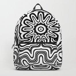 Mandala black 6 Backpack