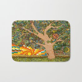 Etz haDaat tov V'ra: Tree of Knowledge Bath Mat