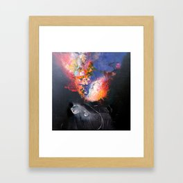 SUPERNOVA Framed Art Print