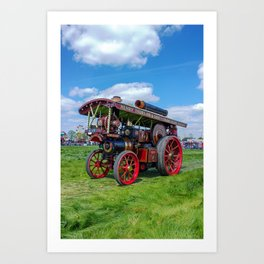 "Showmans Engine ""Lord Nelson"" Art Print"