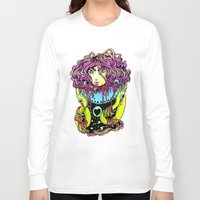 ramen Long Sleeve T-shirts featuring Ramen girl by bb0t
