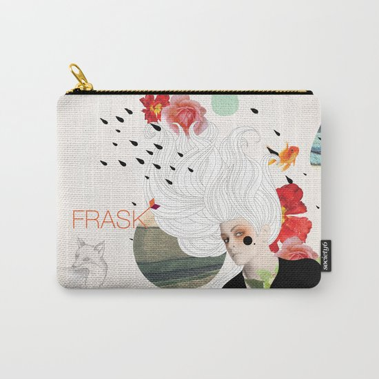 FRASK Collage Carry-All Pouch