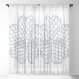 The Waffle Sheer Curtain
