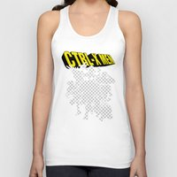 x men Tank Tops featuring Ctrl-X Men by Faniseto