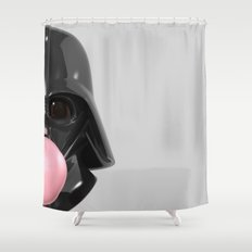Darth Vader Bubble Gum 02 Shower Curtain