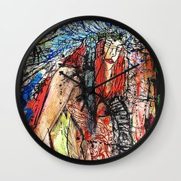 Warrior Wall Clock