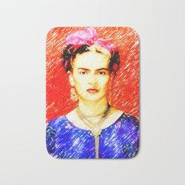 Looking for Frida Kahlo... Bath Mat