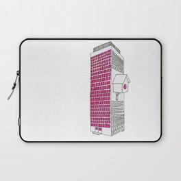 High rise birdhouse. Laptop Sleeve