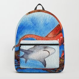 Strike ... Two by Maureen Donovan Backpack