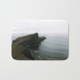 Neist Point Lighthouse II - Landscape Photography Bath Mat