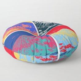 Mt. Fuji Pop Art Floor Pillow
