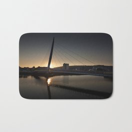 Millennium bridge swansea Bath Mat