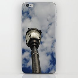 light Post iPhone Skin