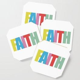 Faith (Color) Coaster