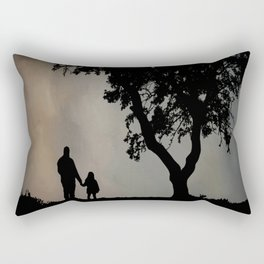 Grandpa Tell Me About The Good Old Days Rectangular Pillow
