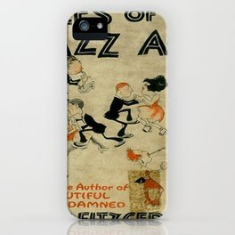 Tales of the Jazz Age vintage book cover - Fitzgerald iPhone Case