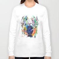 archan nair Long Sleeve T-shirts featuring Seventh Sense by Archan Nair